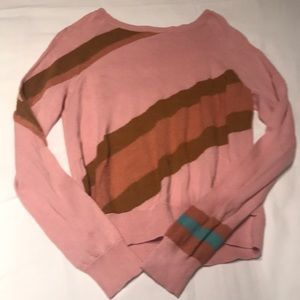 Candy Colorblocked Vintage Sweater